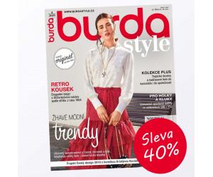 Časopis Burda Style se slevou 40%