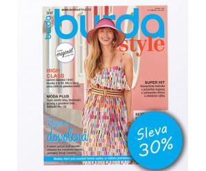 Roční předplatné Burda Style se slevou 30%