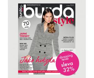 Roční  tištěné předplatné Burda Style se slevou 32 %