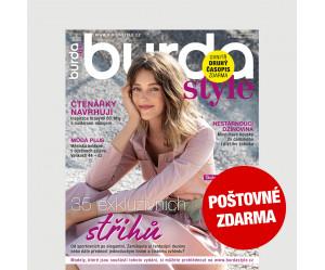 Aktuální vydání Burda Style 2/2021 POŠTOVNÉ ZDARMA (pouze pro ČR)