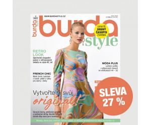 Roční tištěné předplatné Burda Style se slevou 27 %
