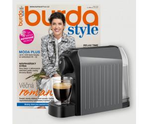 Roční předplatné Burda Style + kávovar Tchibo Cafissimo Easy Grey