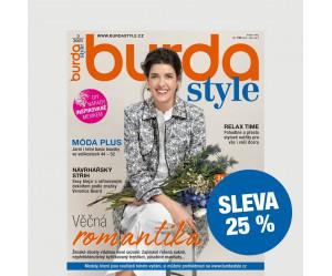 Půlroční tištěné předplatné Burda Style se slevou 25 %