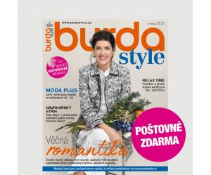 Aktuální vydání Burda Style 5/2021 POŠTOVNÉ ZDARMA (pouze pro ČR)