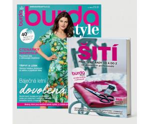 Roční předplatné Burda Style + Kniha ŠITÍ
