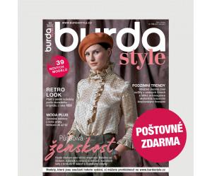 Aktuální vydání Burda Style 10/2021 POŠTOVNÉ ZDARMA (pouze pro ČR)