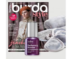 Roční předplatné Burda Style + péče Saffee
