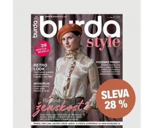Roční tištěné předplatné Burda Style se slevou 28 %