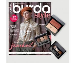 Roční předplatné Burda Style + dekorativní kosmetika GA-DE