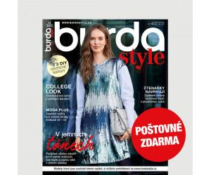 Aktuální vydání Burda Style 11/2021 POŠTOVNÉ ZDARMA (pouze pro ČR)