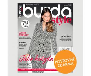 Aktuální vydání Burda Style 4/2020 POŠTOVNÉ ZDARMA (pouze pro ČR)